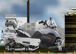 Tuning-spele-snow-scooter